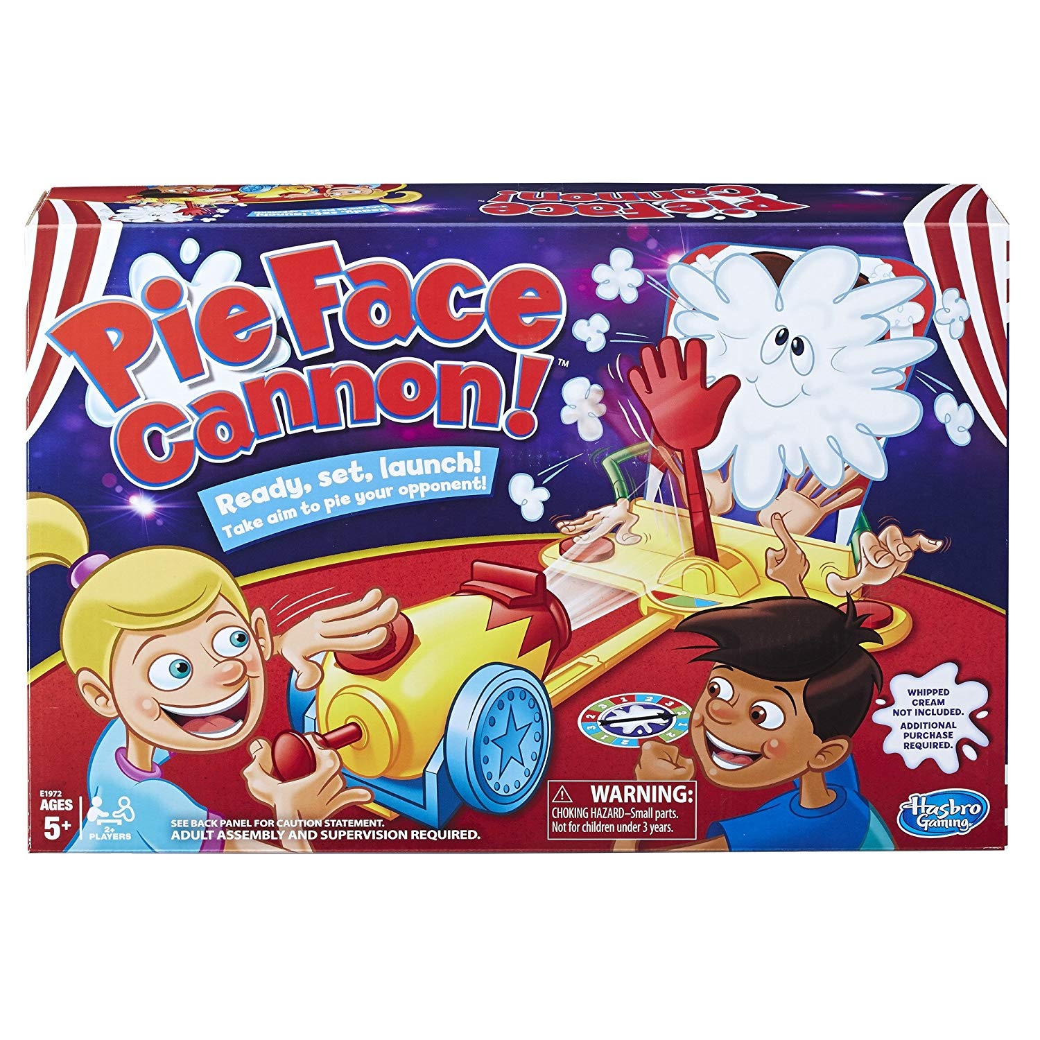 Pie Face Cannon Game - Pie face games