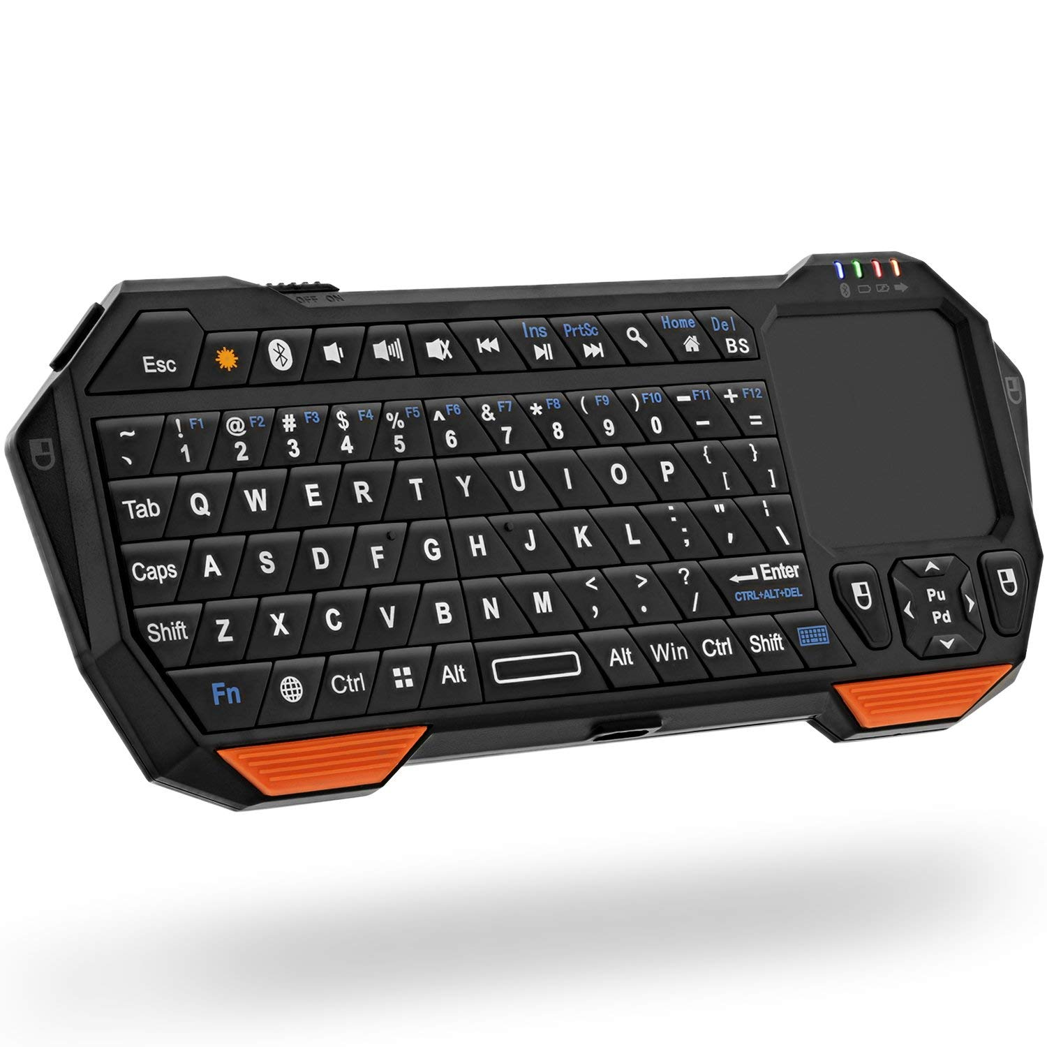 Fosmon Portable Lightweight Mini Wireless Bluetooth Keyboard - wireless keyboards