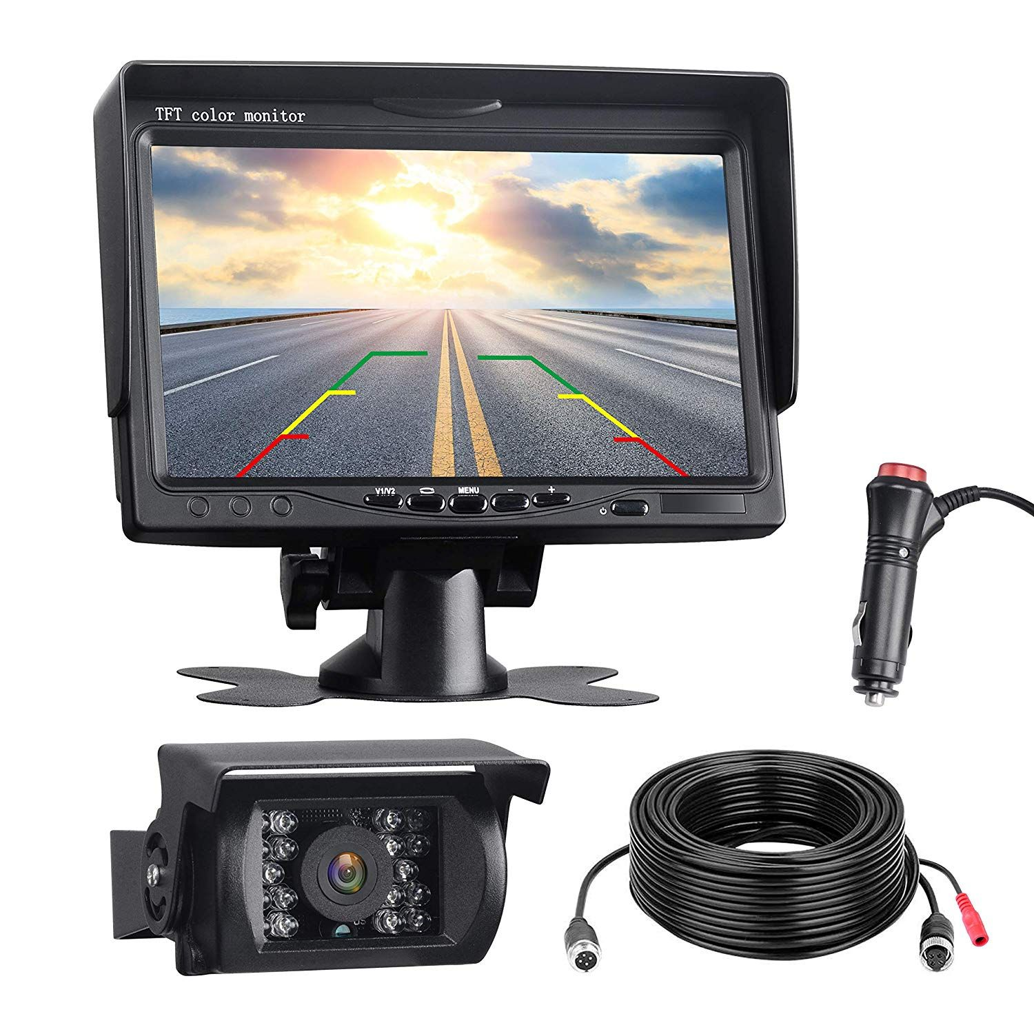 DVKNM Upgrade Backup Camera Monitor Kit - Best Wireless Backup Cameras