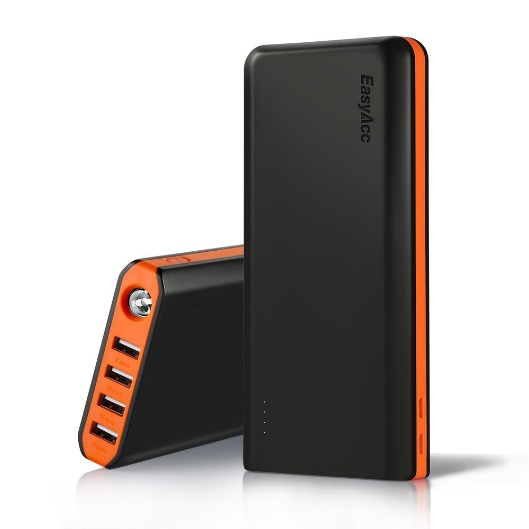 EasyAcc 20000mAh Portable Charger - Power Banks for iPhone X