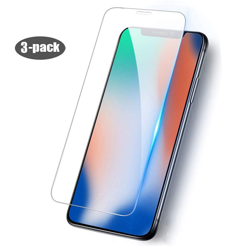 [3-Pack] Screen Protector for iPhone X/Xs - Screen Protectors for iPhone X