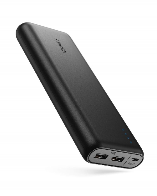 Portable Charger Anker PowerCore 20100mAh - Power Banks for iPhone X