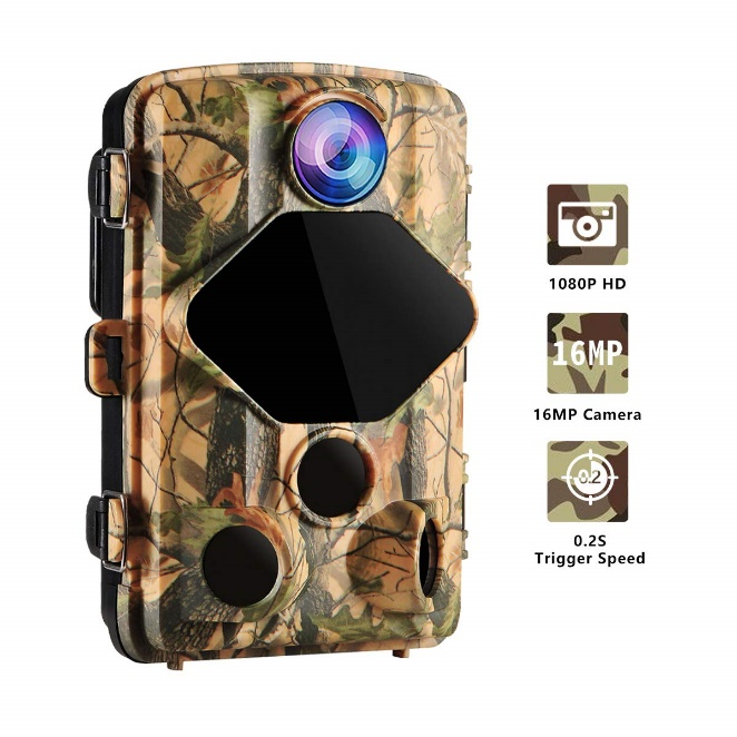 Trail Hunting Game Wansview Camera 16MP 1080P HD - Best Game Trail Cameras