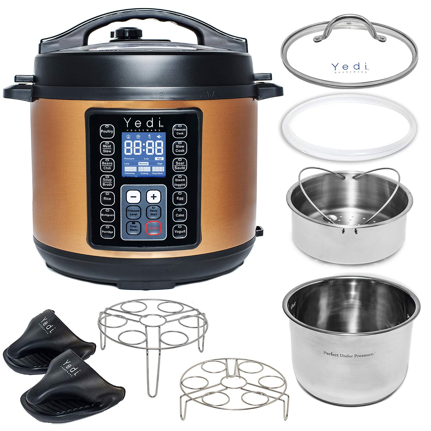 Yedi Total Package 9-in-1 Instant Programmable Pressure Cooker
