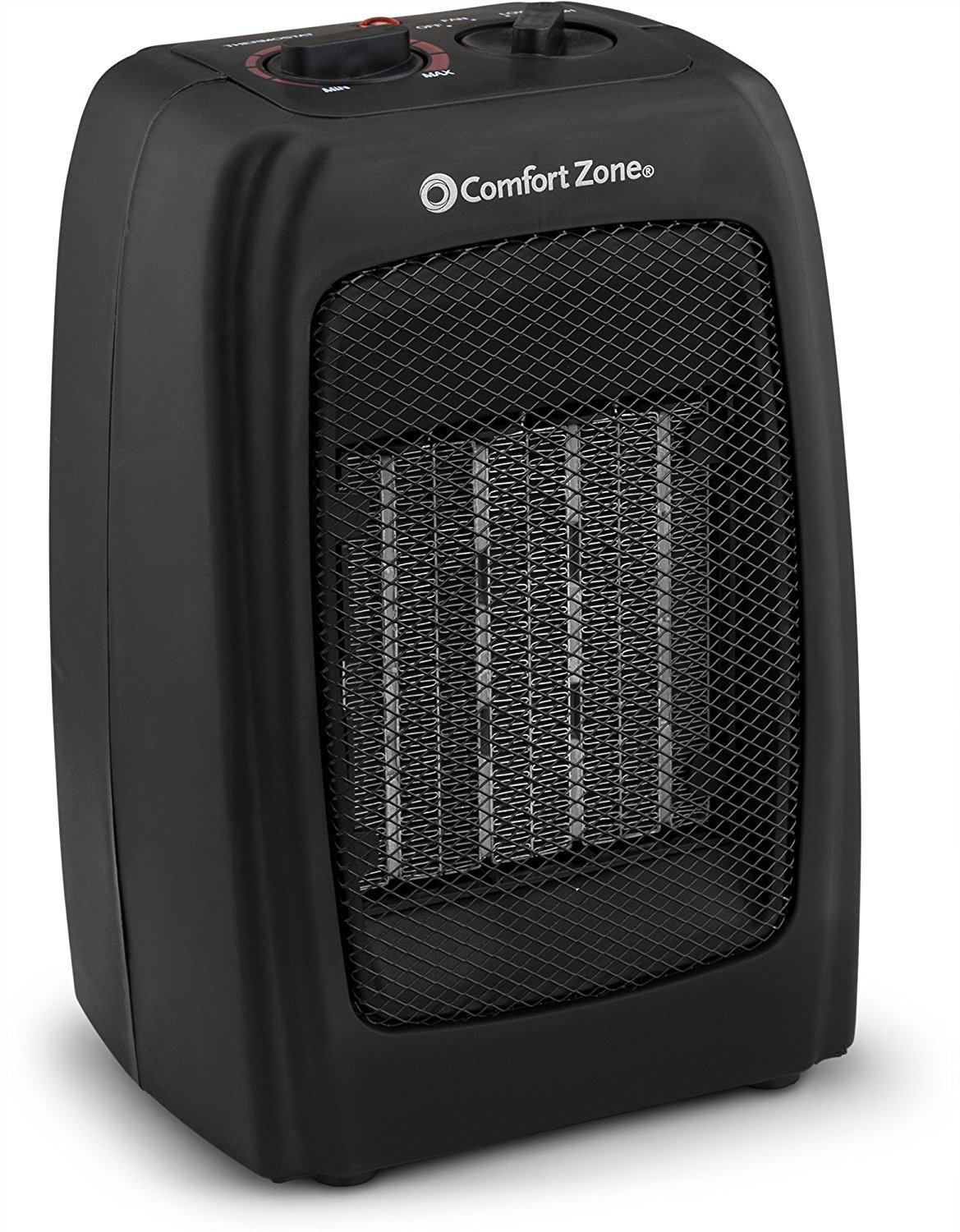 BOVADO USA Portable 166648 Ceramic Space Heater, Personal Warming Fan with Adjustable Thermostat