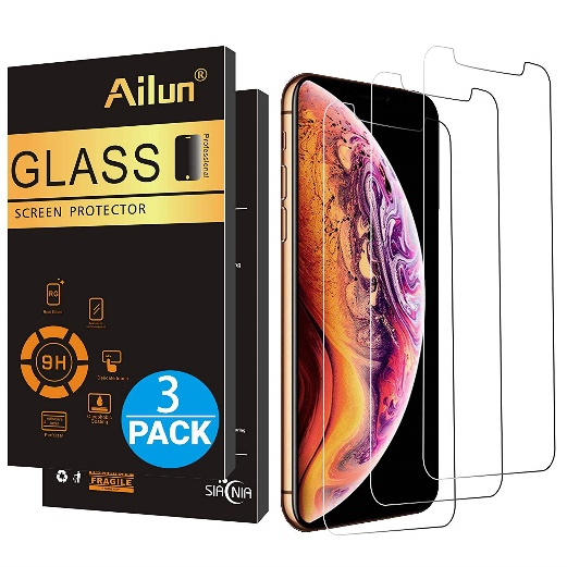 Ailun Compatible with Apple iPhone Xs - Screen Protectors for iPhone X