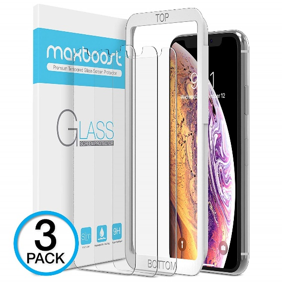 Maxboost Screen Protector for Apple - Screen Protectors for iPhone X