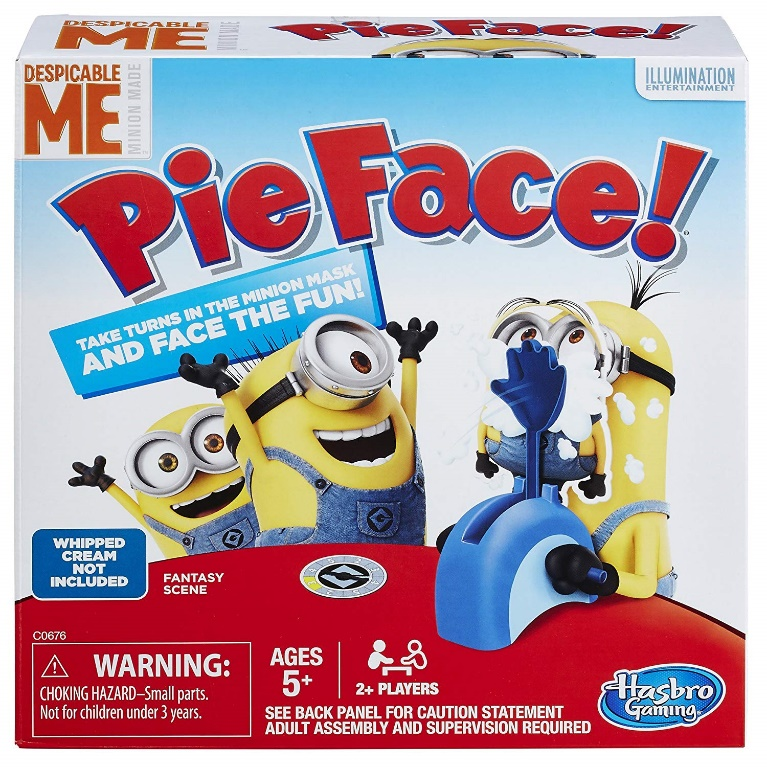Hasbro Gaming Minion Made Edition - Pie face games
