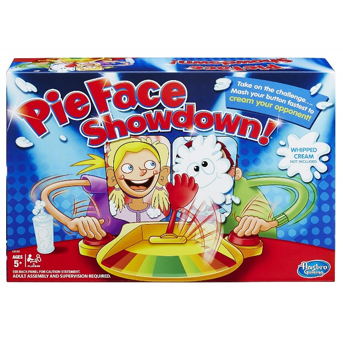 Hasbro Gaming Pie Face Game - Pie face games