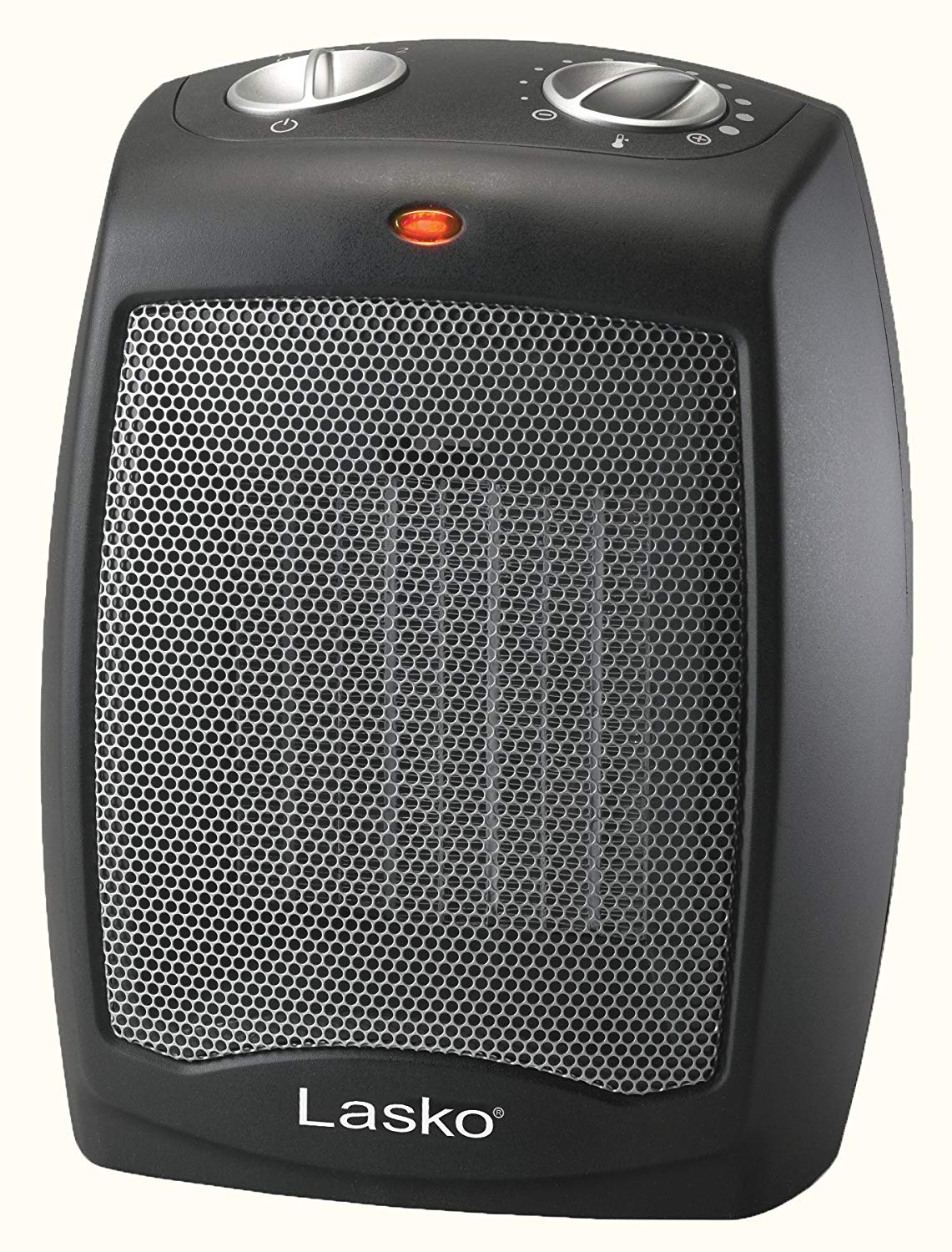 Lasko CD09250 Ceramic Portable Space Heater with Adjustable Thermostat