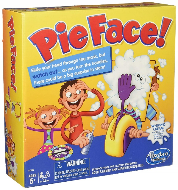 Hasbro Pie Face! Game - Pie face games
