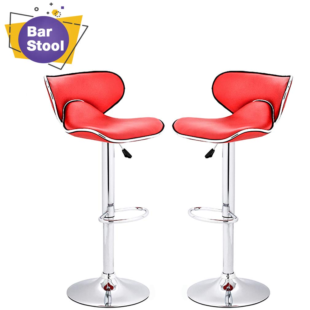 BestOffice Counter Height Bar Stools –Set of 2 | low back bar stools