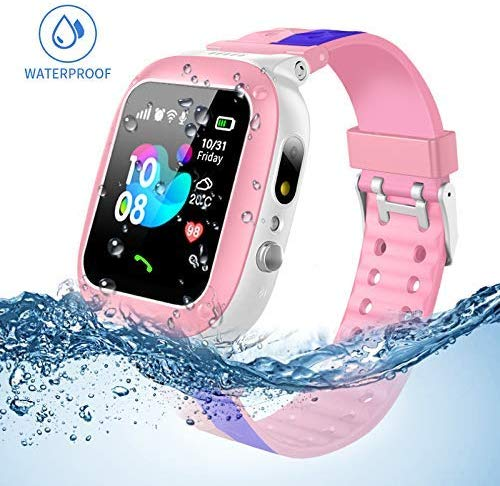 Kids smartwatch waterproof with LBS/GPS