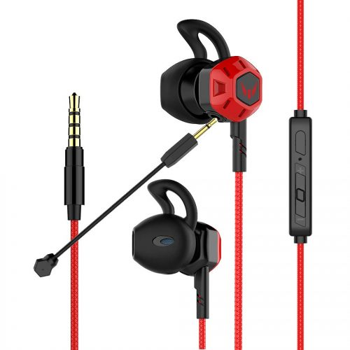 Gaming Earbuds,Headphones with Adjustable Mic