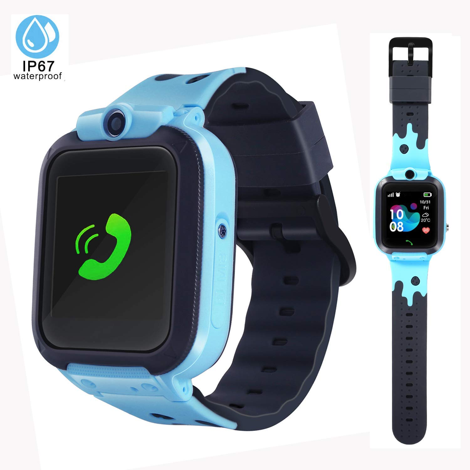 LTAIN Kids Smartwatch Waterproof Smart Watch