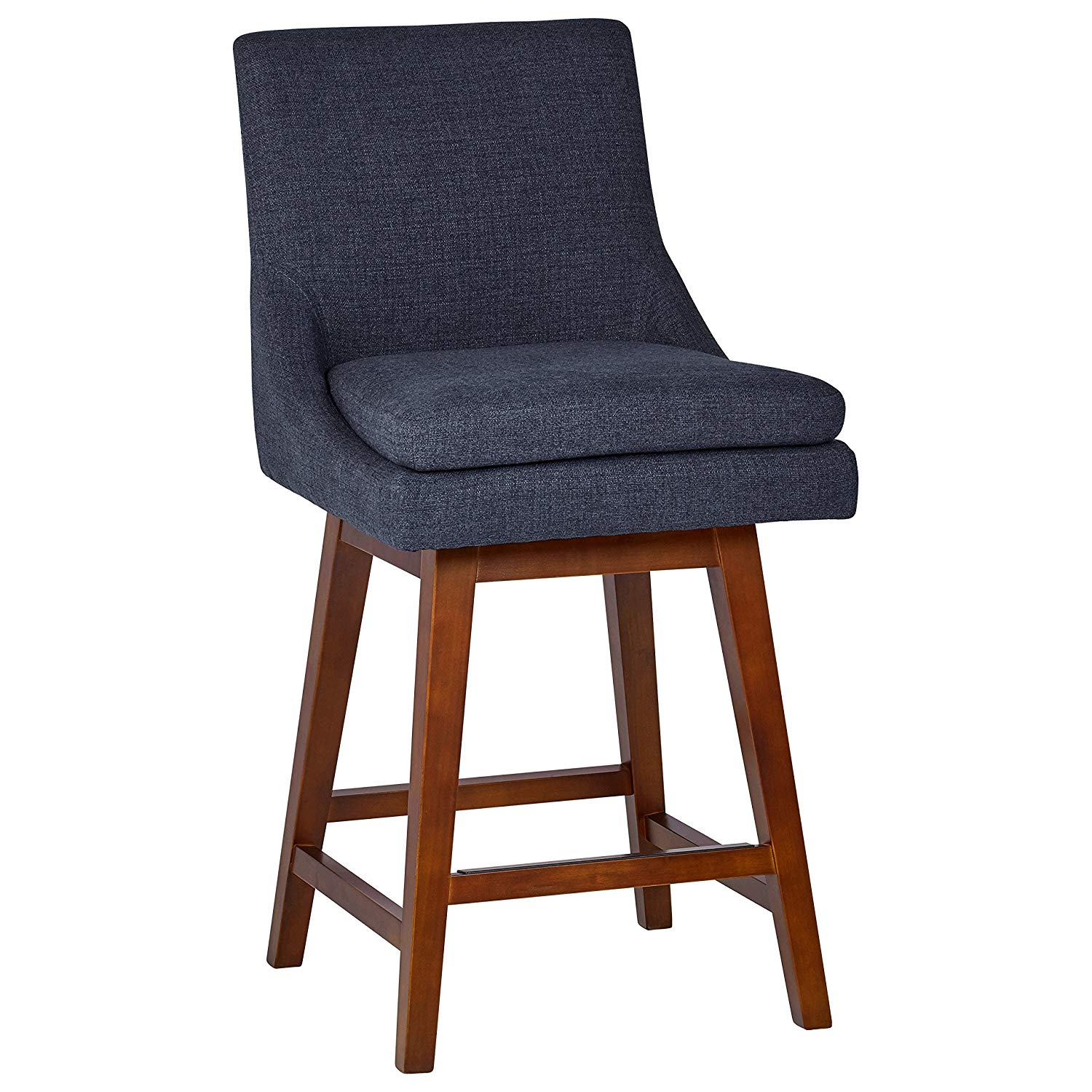 Stone & Beam Alaina Kitchen Counter Bar Stool | low back bar stools