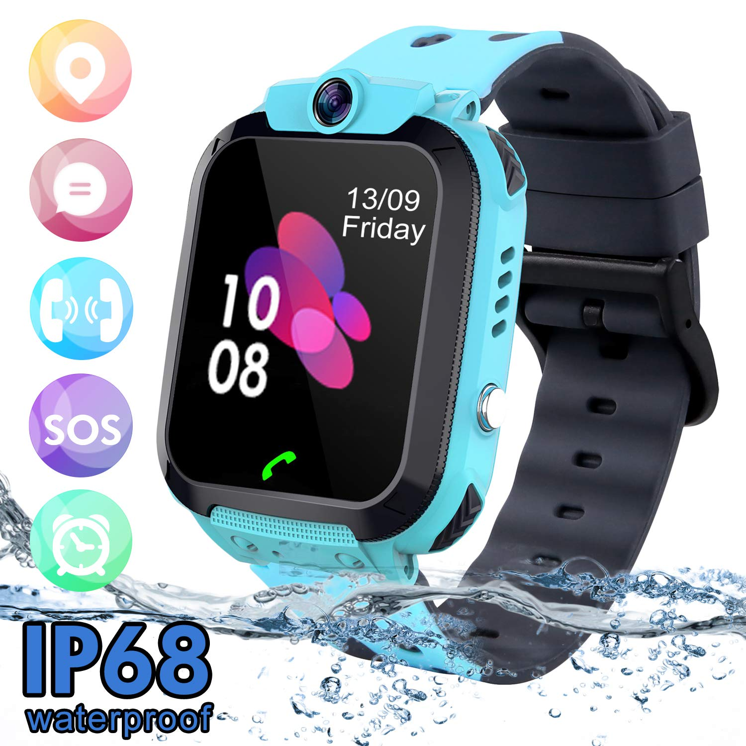 SZBXD Kids Waterproof Smart Watch Phone:
