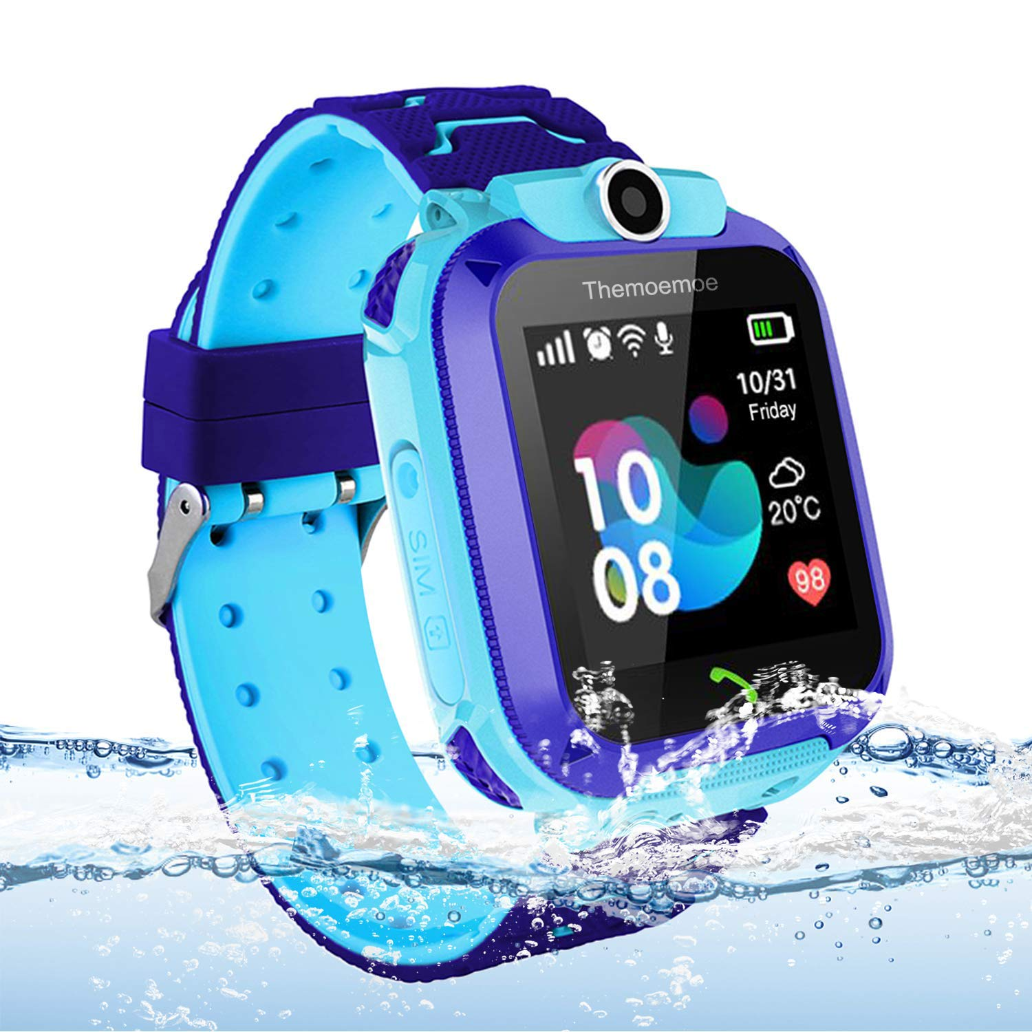 Themoemoe Kids Smart Watch Phone