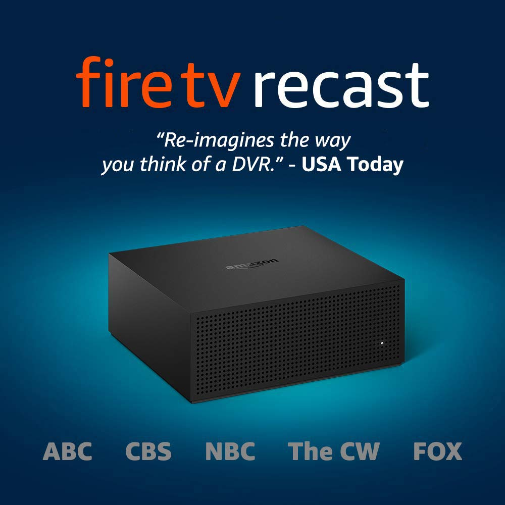 Fire TV Recast, over -air DVR, 500 GB - Amazon Prime Day