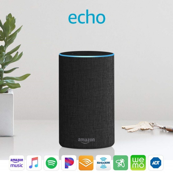 Echo (2nd Generation) - Smart speaker with Alexa and Dolby - Amazon Prime Day