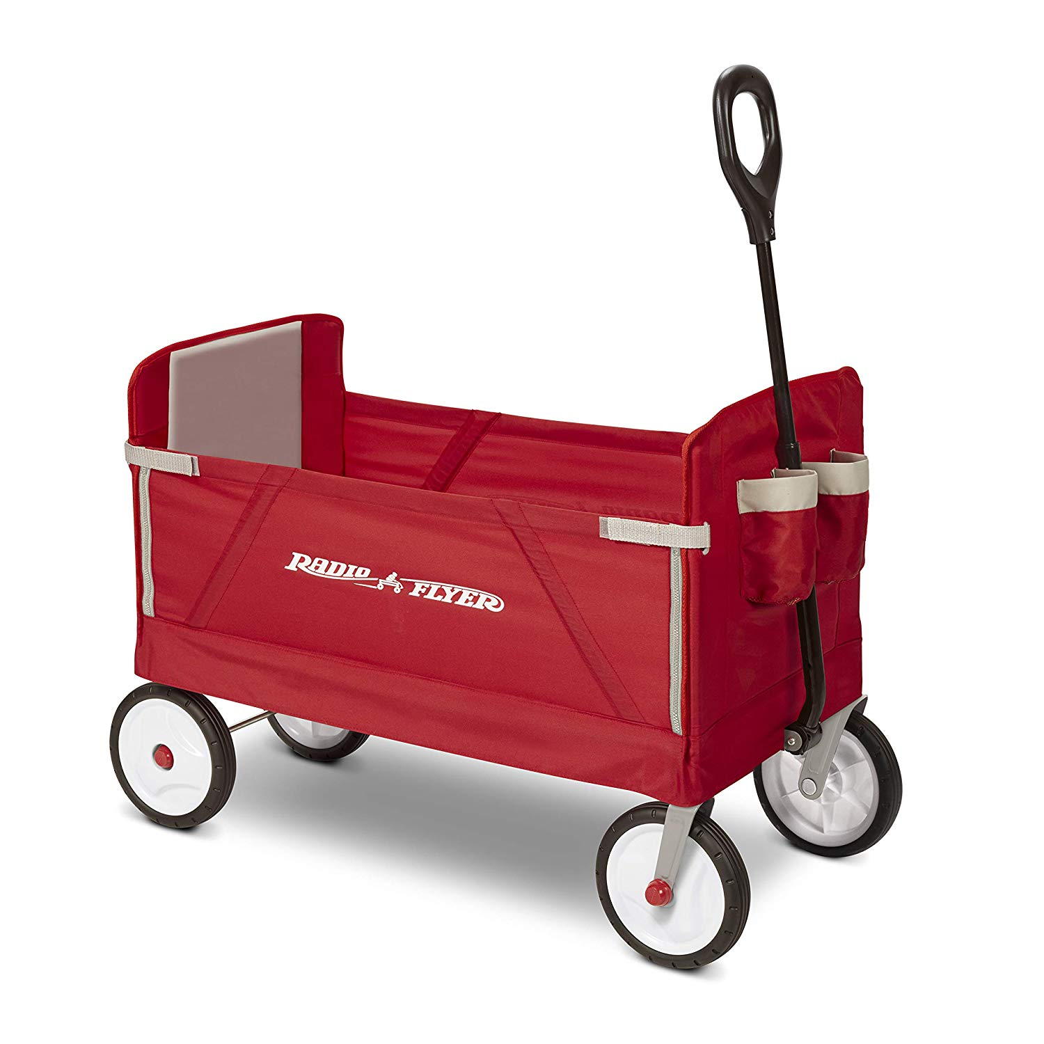 Radio Flyer 3-in-1 EZ Folding Wagon | Beach Wagons