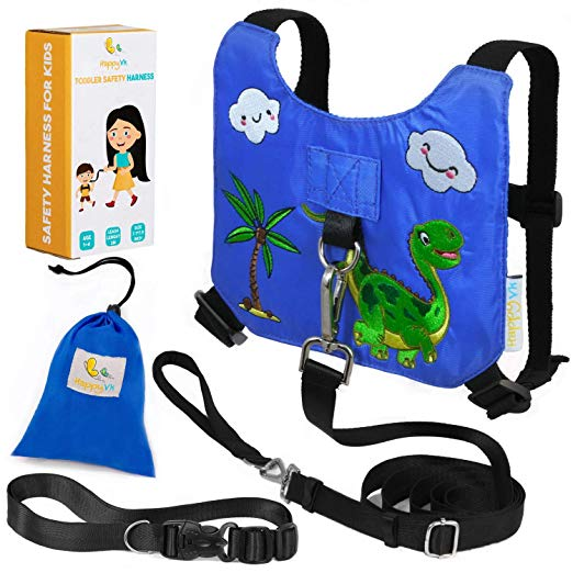 HappyVK Safety Harness for Kids | Best Toddler Harnesses & Leashes