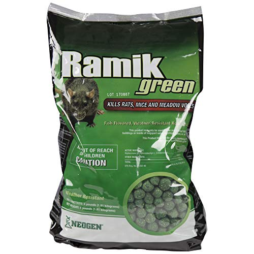 (2 Pack) Neogen Rodenticide Ramik Mouse and Rat Nuggets Pouch | Best Rat Poisons