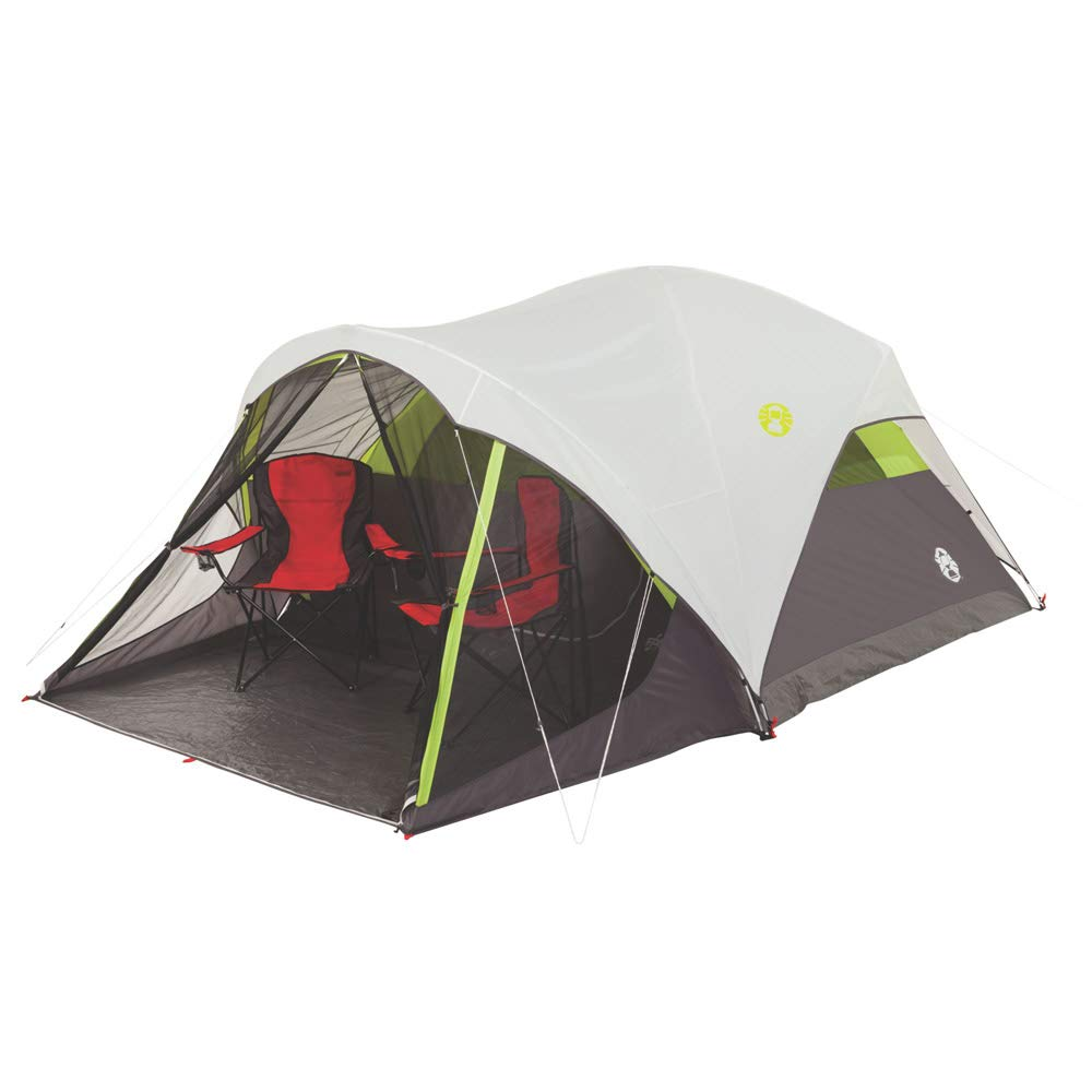Coleman Steel Creek Fast Pitch Dome Tent with Screen Room  | Best Easiest Tents To Set Up