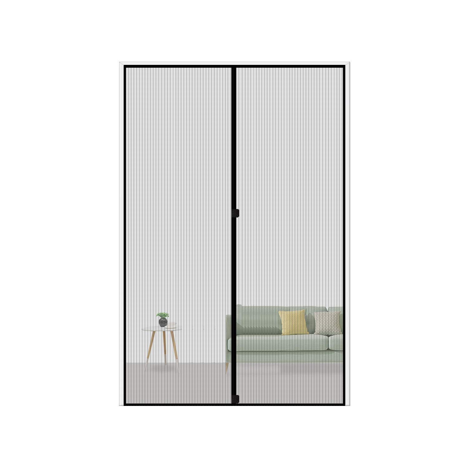 Magnetic Screen Door 36 x 96, Magic Door Mesh | Best Portable Screen Doors To Buy