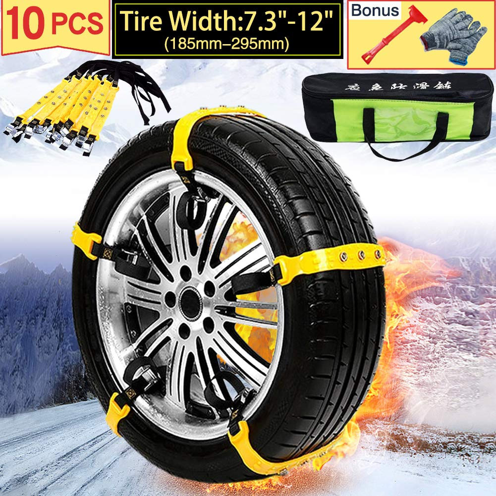 VeMee Safety Snow Tire Chains