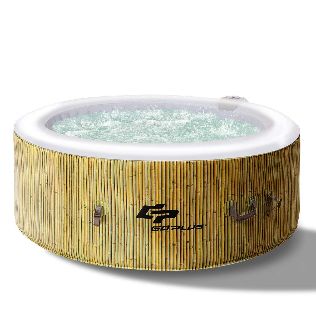GOPLUS Inflatable Hot Tub - Inflatable Hot Tubs