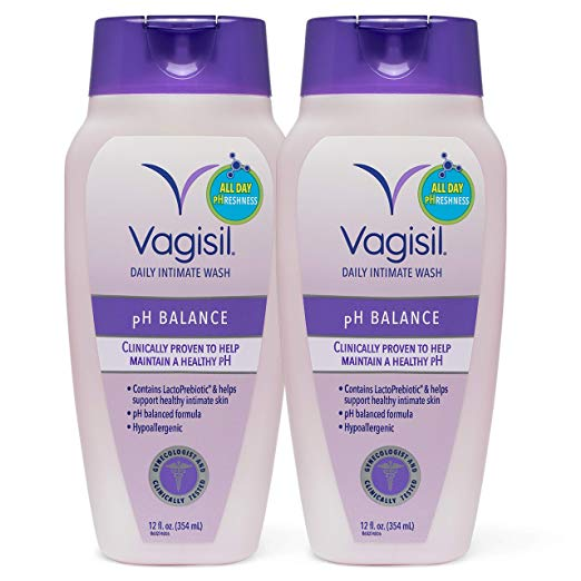Vagisil Feminine Wash pH Balanced, Light & Fresh 12 oz | Best Feminine Wash