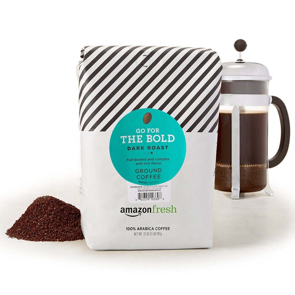 AmazonFresh Go For The Bold Ground Coffee