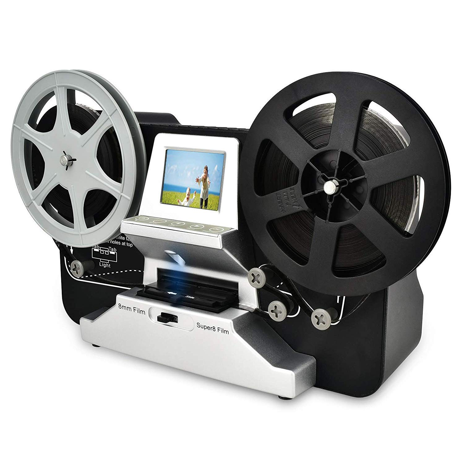 Cotok 8mm and Super 8 Reel Photo Scanner - photo scanners