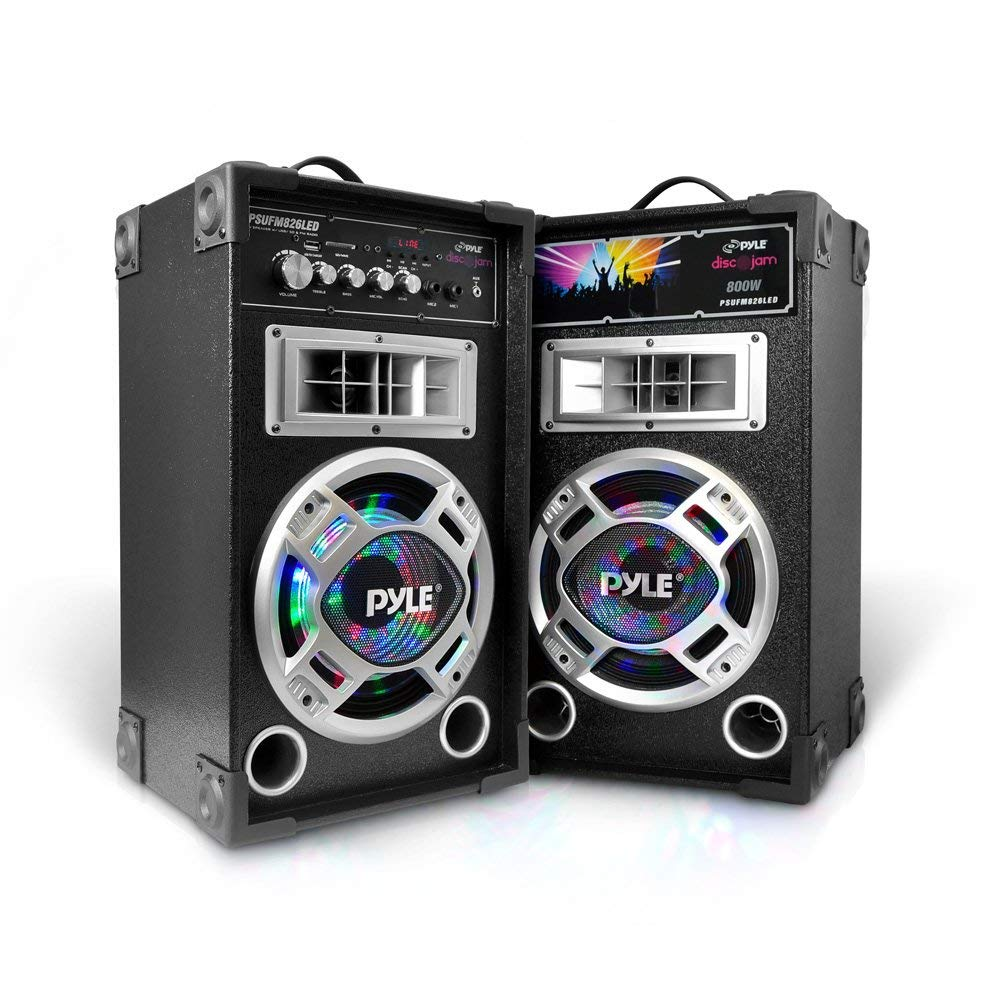 Portable PA Tower Speaker System - DJ Sound System