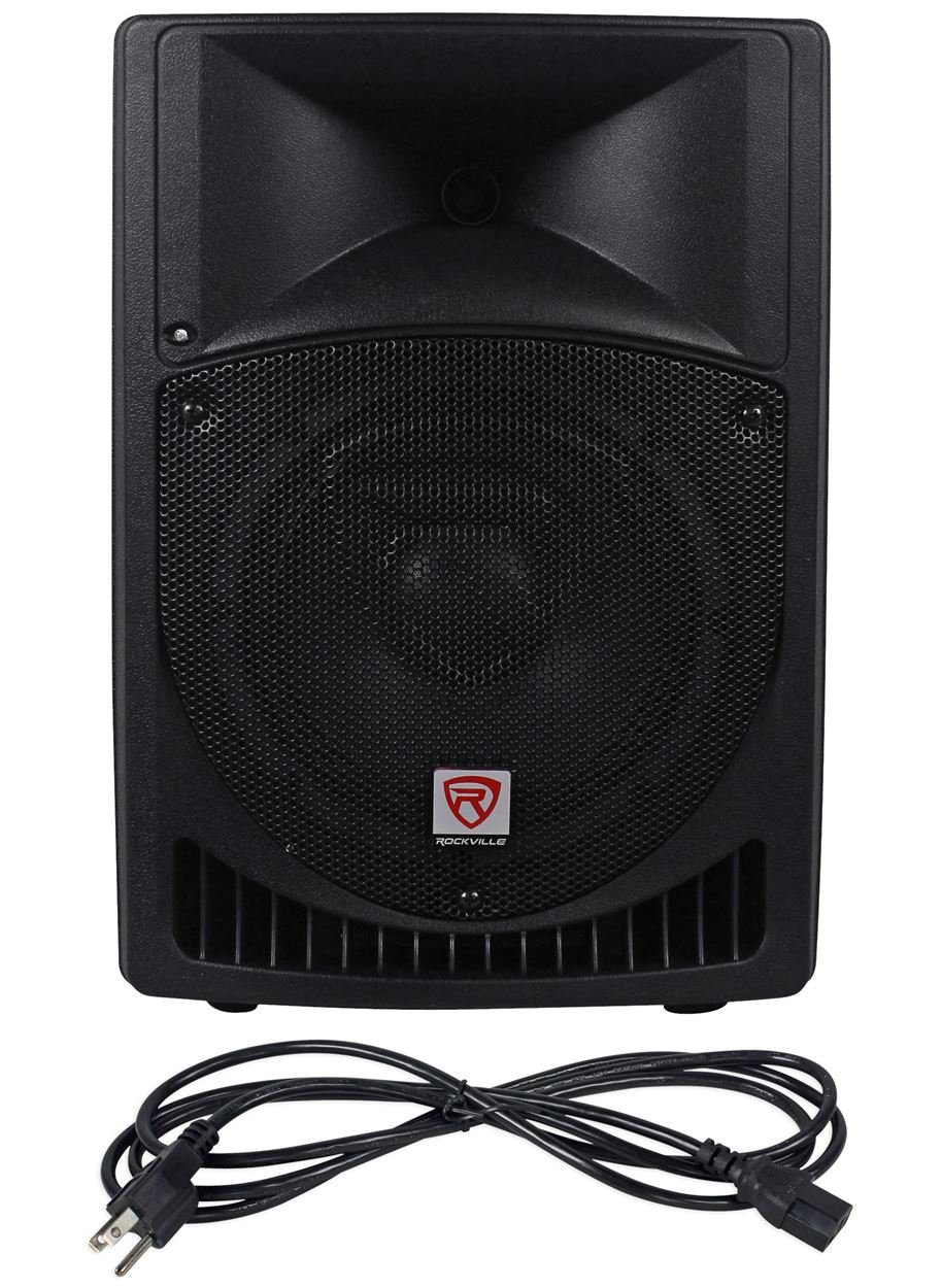 "Rockville RPG8 8"" 2-Way DJ PA Speaker System - DJ Sound System"