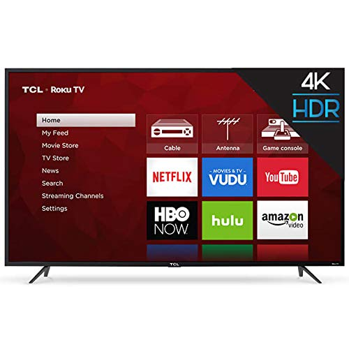 "TCL 65"" Class 4K (2160P) Roku Smart LED TV"