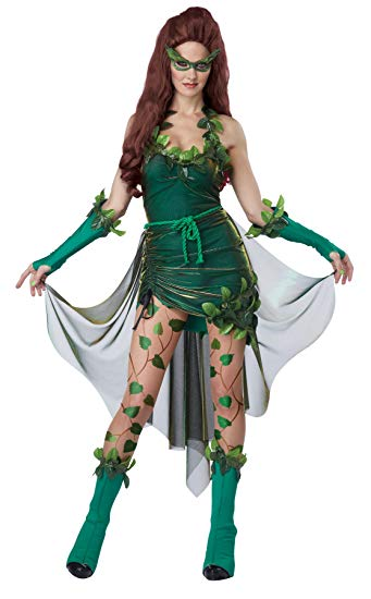 California Costumes Women's Eye Candy - Lethal Beauty Adult, Green, X-Large - Women Halloween costumes