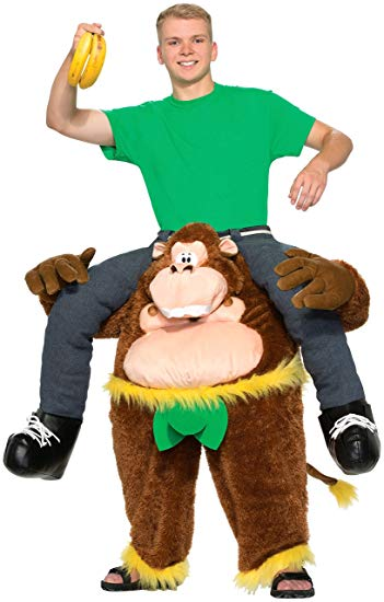 Forum Novelties Men's Monkeyin' Around Costume, Multi, Standard - Funny Halloween costumes