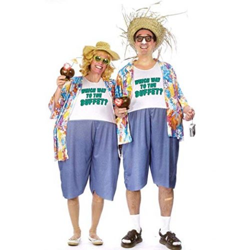 Fun World Women's Tacky Traveler - Couple Halloween costumes