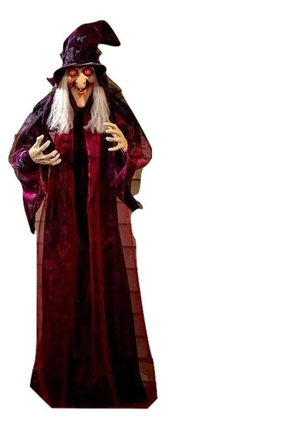 "71"" Life-Size Witch Halloween Haunted House Prop Décor"