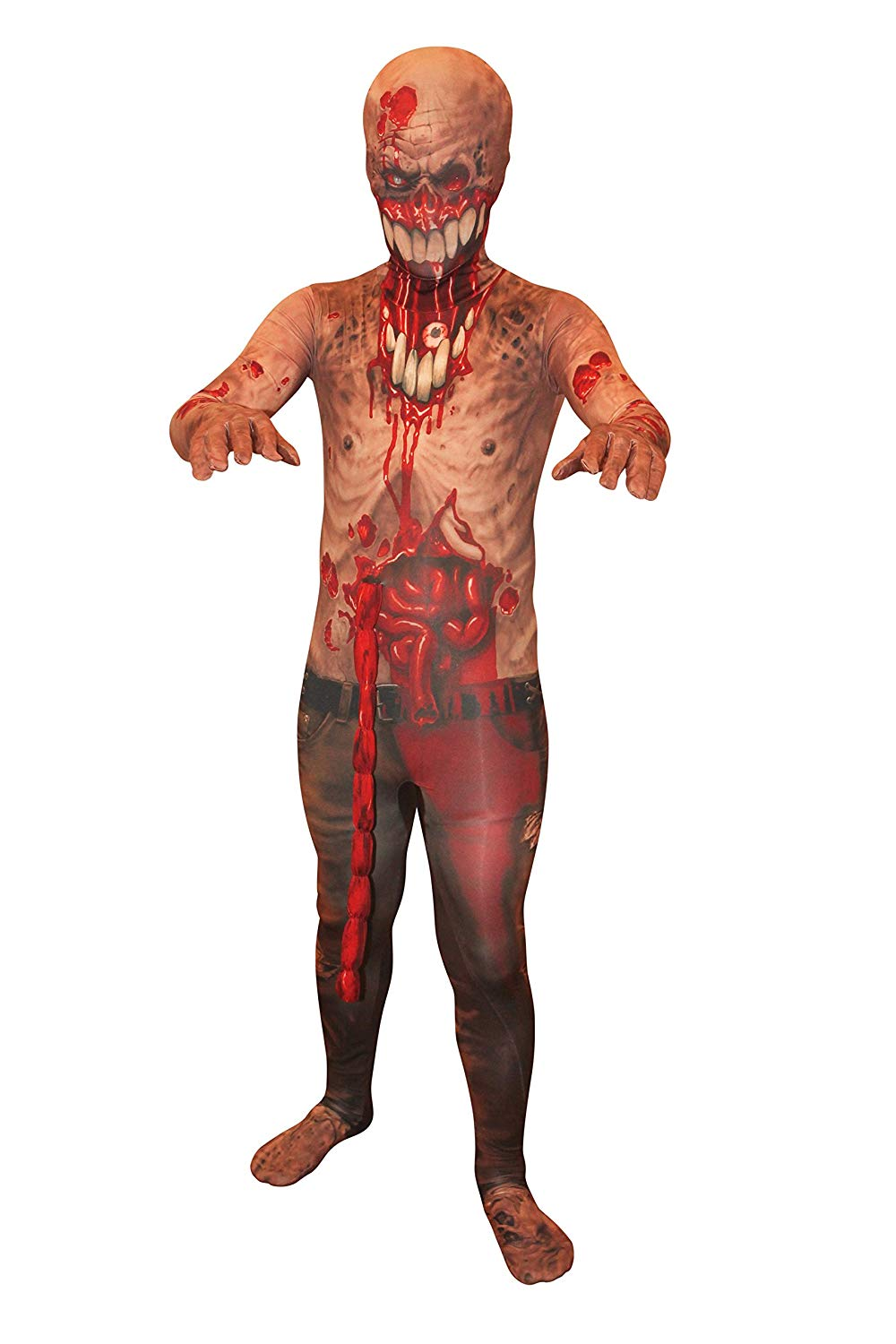 Morphsuits Kids Zombie Monster Costume - kid Halloween costumes