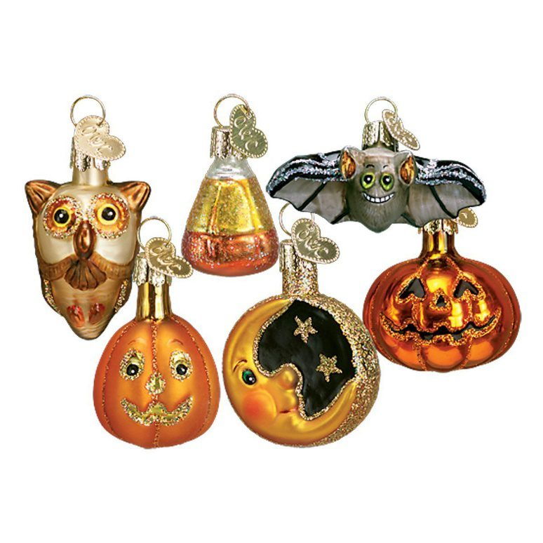 Old World Christmas Ornaments: Miniature Halloween Ornaments