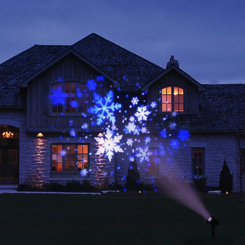 8. EAMBRITE Christmas Projector Lights