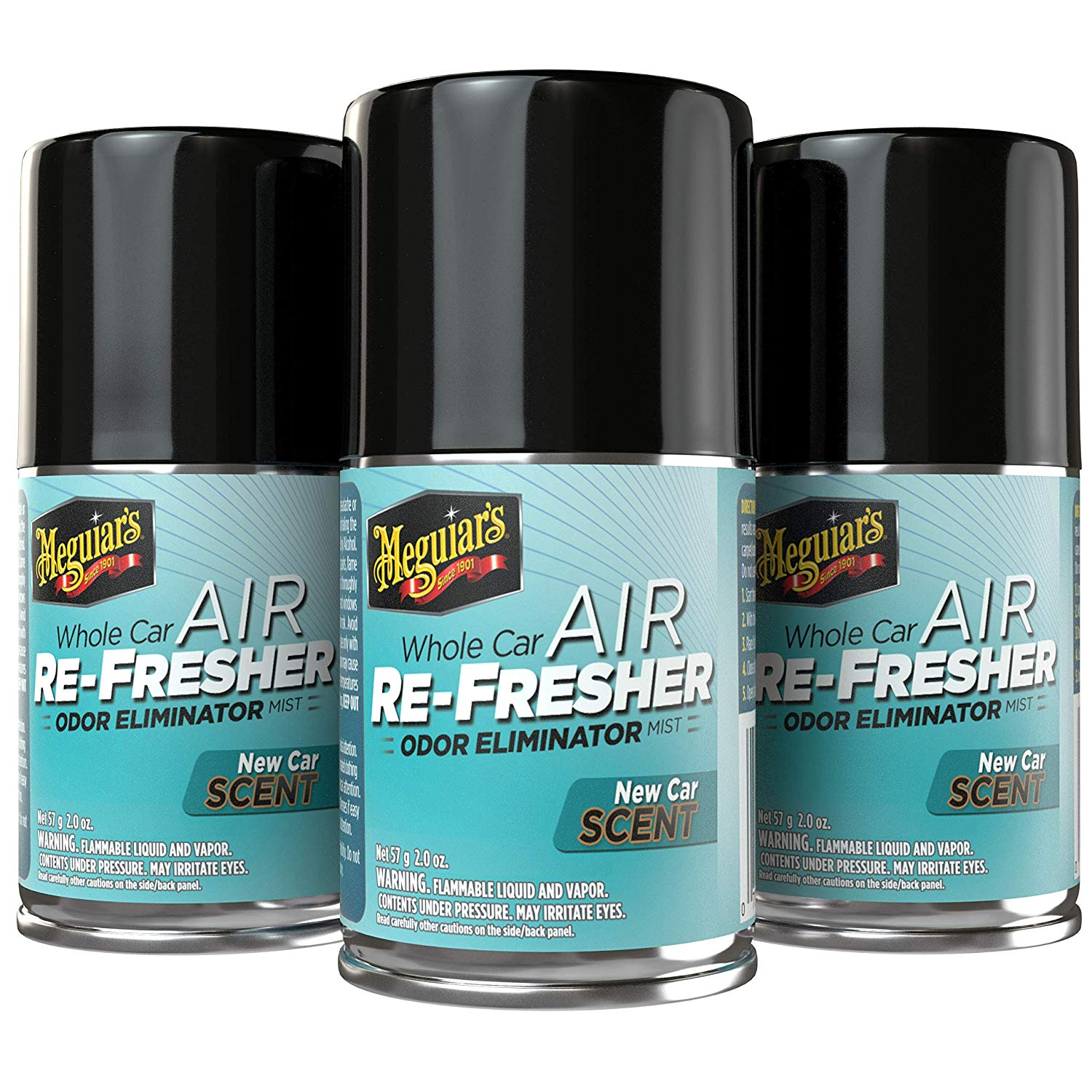 Meguiar's G16402PK3 New Car Air Re-Freshener