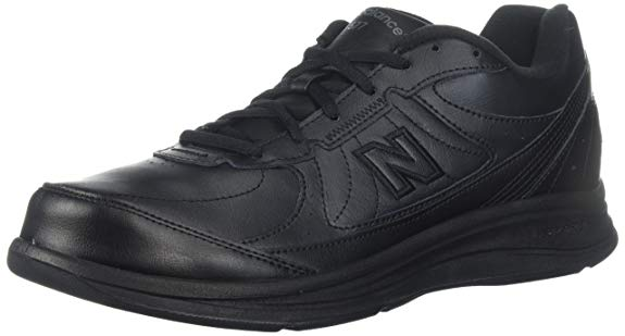 New Balance Men's MW577 Black Walking Shoe