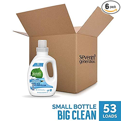 Seventh Generation Concentrated Laundry Detergent | Fabric Softener