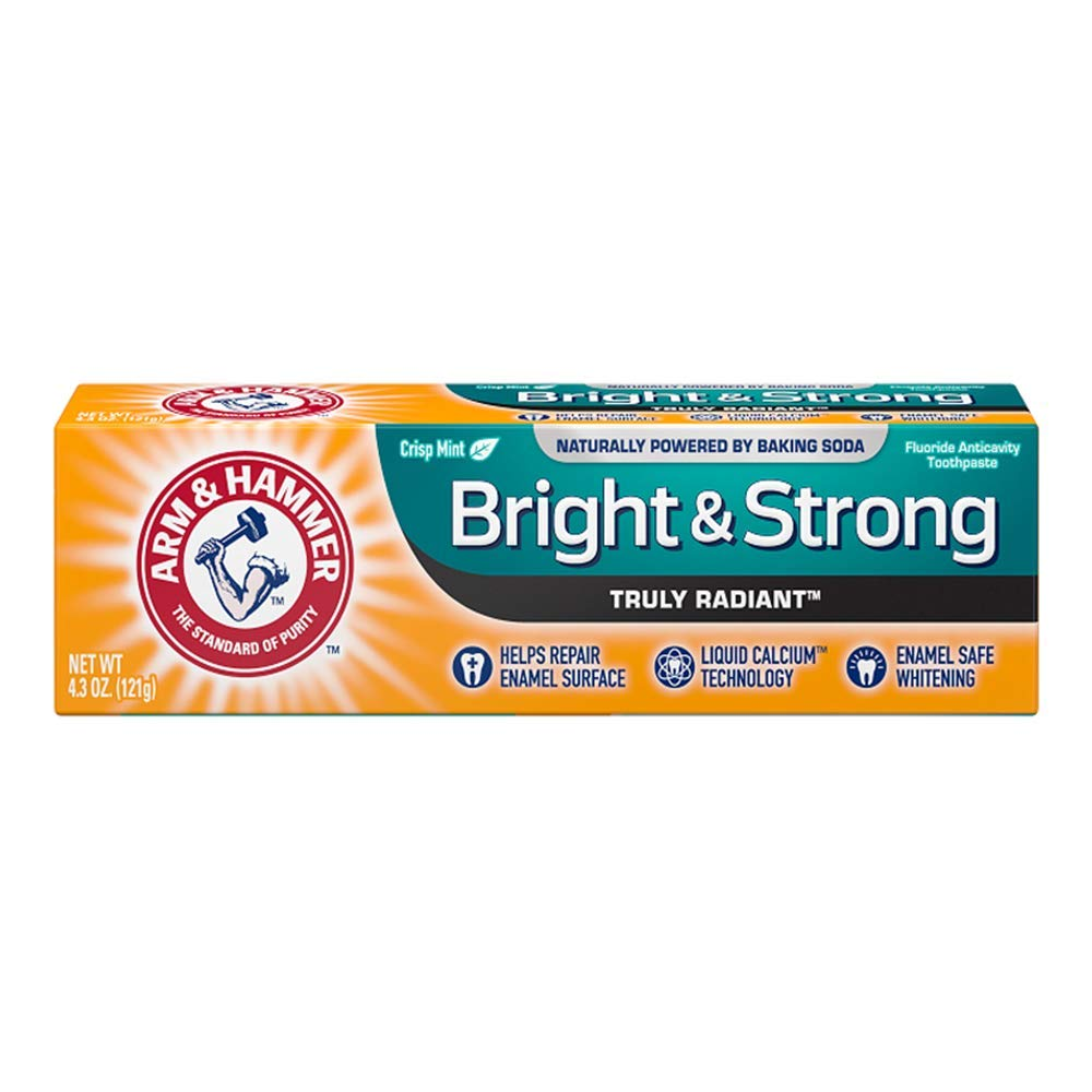 ARM & HAMMER Truly Radiant Bright & Strong Fluoride Anticavity Toothpaste