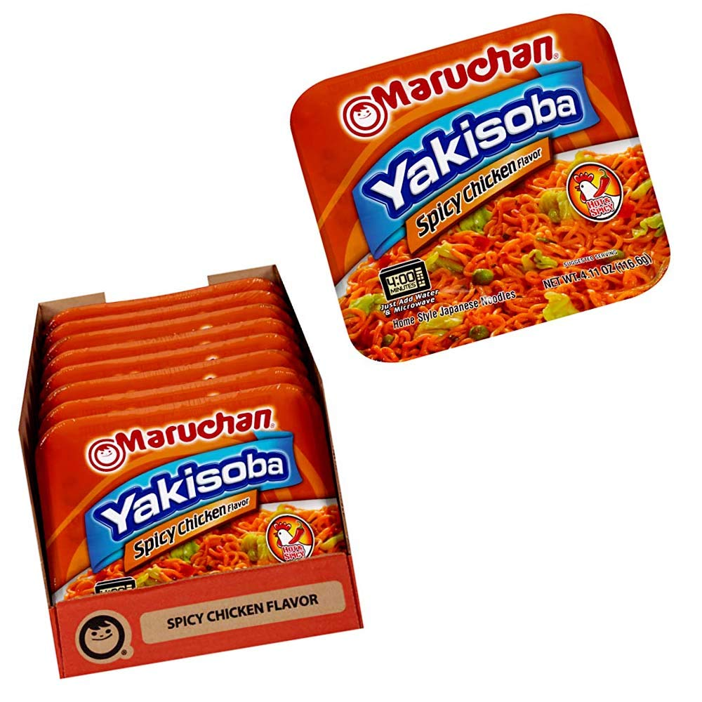 Yakisoba Spicy Chicken Flavor | Best Instant Ramens