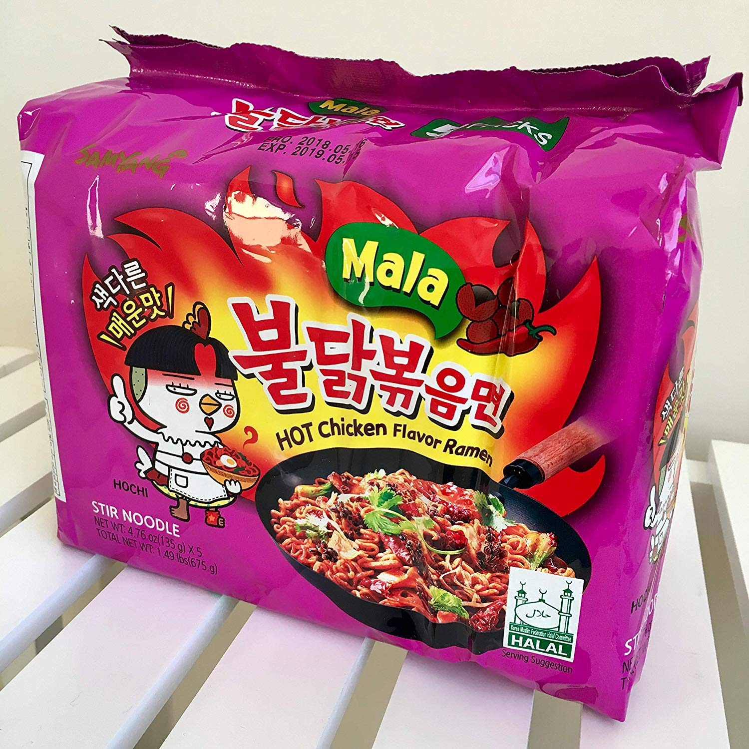 Samyang Hot Chicken Instant Ramen |  Best Instant Ramens